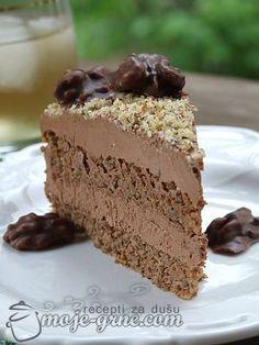 "Torta od oraha i čokolade by ""Bite my Cake""/FBI rukavice"