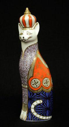 "Royal Crown Derby Royal Кошки фигурка абиссинская кошка, 9 """