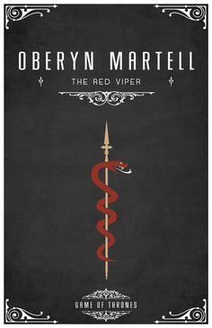 Oberyn Martell Personal Sigil by ~LiquidSoulDesign on deviantART
