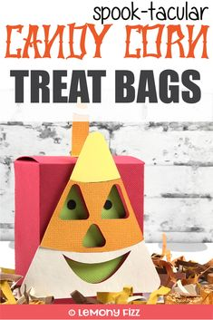It's a Group of Spooky Halloween Treat Bags Fun Halloween Crafts, Halloween Treat Bags, Halloween Projects, Spooky Halloween, Fun Crafts, Halloween Party, Paper Crafts, Halloween Celebration, Craft Projects For Kids