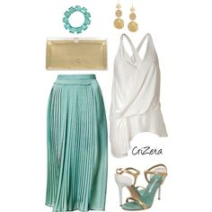 Gold, created by crizeta77 on Polyvore