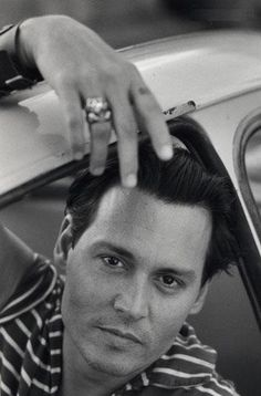 Johnny Depp in Black & White <3 - Vanity Fair