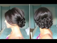LuxyHair shows us how to do an Elegant Braided Up-Do. Beautiful and simple. I have to try this.