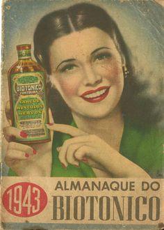 Propaganda antiga do Biotônico Fontoura - Propagandas Históricas.