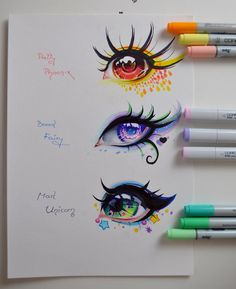 Mythical Creatures - Eye Edition by Lighane