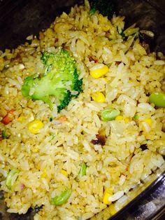 Organic Vegetarian Fried Rice.