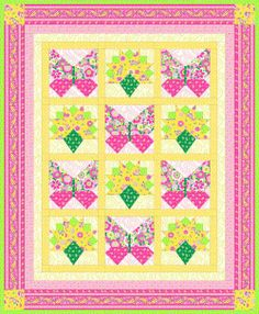 Fanfare Quilt - this links to PDF of pattern