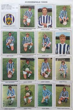 Huddersfield Town stickers for Huddersfield Town Fc, Frank Worthington, Steve Smith, 1960s, Football, Baseball Cards, Stickers, Logo, Sports