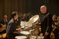 "Damien Chazelle's ""Whiplash"" is a movie about music, but it could just as well have been about an underdog sports team."