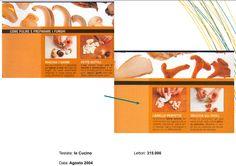 """Preparare i funghi - """"Io Cucino"""" Agosto 2004"""