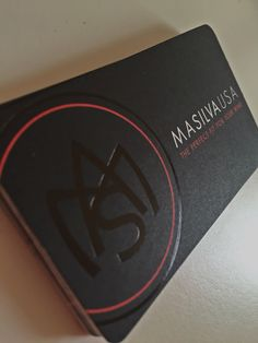 m a silva business card design spot gloss embossed vv corporate