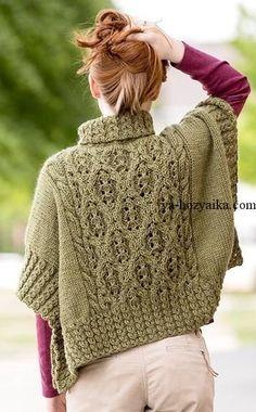 Exceptional Stitches Make a Crochet Hat Ideas. Extraordinary Stitches Make a Crochet Hat Ideas. Knitting Designs, Knitting Patterns, Crochet Patterns, Crochet Poncho, Crochet Lace, Irish Crochet, Tricot D'art, Shawl Patterns, Knit Fashion