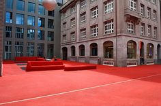 City lounge in St.Gallen Carlos Martinez, Pipilotti Rist