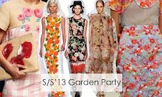 sixties fashion floral trends 2013 in 3d - Google Search