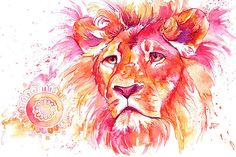 The King - Lion by Laura Slade