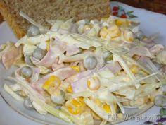 Kulinarne Szaleństwa Margarytki: Sałatka Margarytki Shrimp Pasta, Pasta Salad, Potato Salad, Potatoes, Impreza, Meat, Chicken, Ethnic Recipes, Pineapple