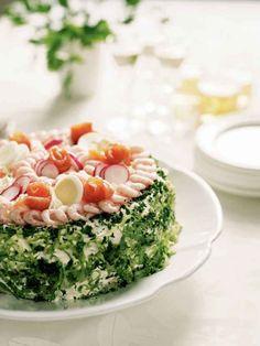 Swedish food - Sandwich cake