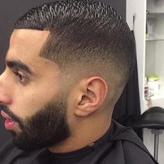 awesome 100 Trendy Fade Haircut For Men - Nice 2017 Looks Best Fade Haircuts, Summer Haircuts, Haircuts For Men, Medium Hair Styles, Curly Hair Styles, Afro Fade, Comb Over Fade, Medium Fade, Fade Cut