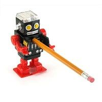 Apontador Robô Retrô - Walking Robot Pencil Sharpener