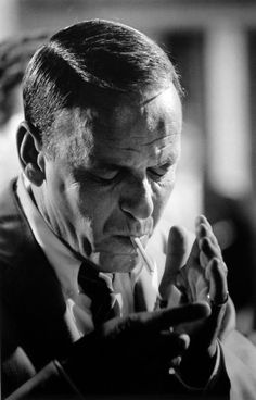 Frank Sinatra by Terry O'Neill
