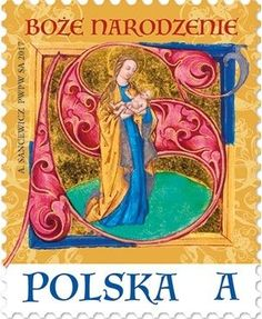 Stamp: Holy Mary with the Child (Poland) (Christmas Mi:PL 4807 Commemorative Stamps, Sell Stamps, Postage Stamp Art, Stamp Catalogue, Vintage Stamps, Small Art, Holy Mary, Fauna, Christmas Themes