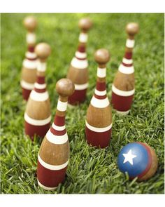 Lawn bowling would entertain kids and adults alike! #BHGSummer
