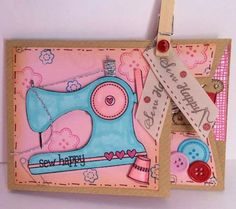 Inkydoodles stamps. Card by Wendy Pickersgill.