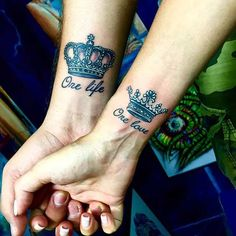 One Life, One Love Tattoos