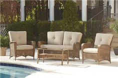 Cosco Outdoor Products   Cosco Outdoor 4 Piece Lakewood Ranch ...