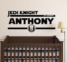 Jedi Star Wars Wall Decal Art Decor Sticker by VinylWallArtworks