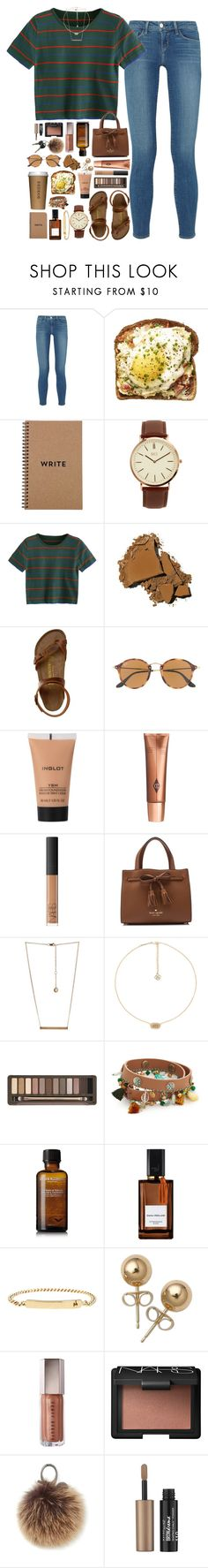 """do something today that your future self will thank you for"" by sdyerrtx ❤ liked on Polyvore featuring L'Agence, Brika, BKE, Bobbi Brown Cosmetics, Birkenstock, Ray-Ban, Inglot, Charlotte Tilbury, NARS Cosmetics and Kate Spade"