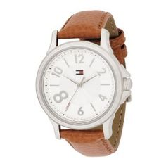 Tommy Hilfiger Women's 1780992 Fashion Quartz Movement Silver Dial with Crystals Watch  60$