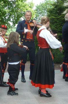 Swedish folk dresses
