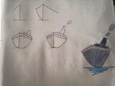Leer kinderen op een speelse wijze tekenen met behulp van cijfers..