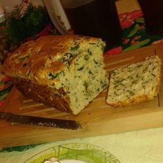 Pão de espinafre