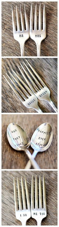 Stamped silver makes a great gift.