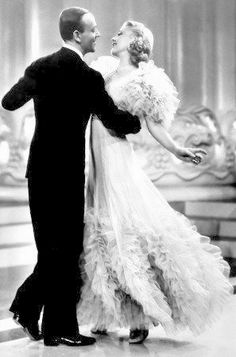 Ginger Rogers and Fred Astaire in Swing time, 1936. Director: George Stevens.