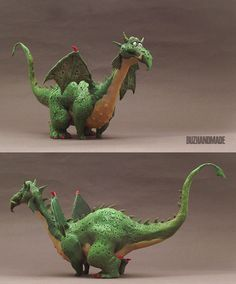 Fat Dragon by buzhandmade.deviantart.com on @deviantART
