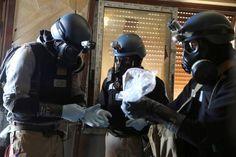 Syrian govt. used chlorine gas in Aleppo battle
