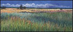 Landscapes in Thread: Martha Fieber's Hand Embroidery