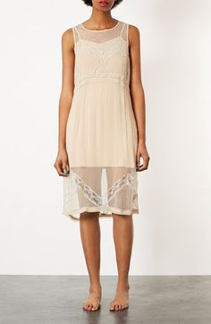 Topshop Sheer Chiffon Dress available at #Nordstrom...you said different Laura...