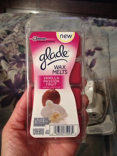 Glade Wax Melts Vanilla Passion Fruit #gotitfree #buzzagent