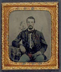 Sergeant B. F. Smith of Company F, 1st Virginia Cavalry