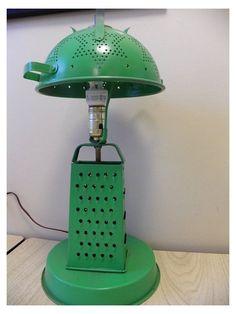 Unique Lamps, Unique Lighting, Upcycled Vintage, Repurposed, Diy Luminaire, Steampunk Lamp, Pipe Lamp, Lampshades, Lamp Design