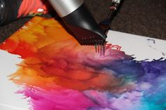 DIY Dorm Decoration: Melted Crayons (With a Twist) | Her Campus