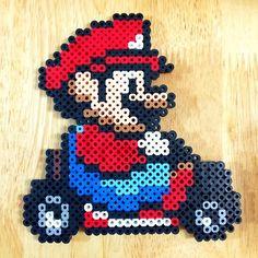 Mario Kart perler beads by myjsi000