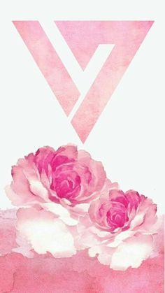 Seventeen Pink Logo