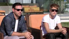 Scooter Braun and Justin Bieber Scooter Braun, Justin Bieber, Mens Sunglasses, Celebrities, Jay, T Shirt, Stuff To Buy, Clothes, Fashion