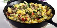 Zucchini Beef Skillet