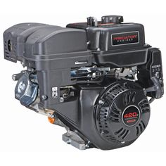 420 cc OHV Horizontal Shaft Gas Engine - Certified for California